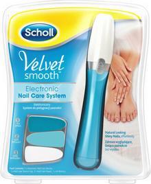 Scholl Pilnik elektryczny do stóp Velvet Smooth Diamond Crystal Niebieski