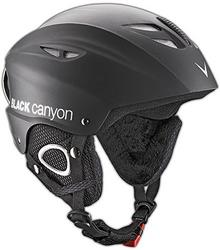 Black Canyon Chamonix kask narciarski, czarny, XL BC36530