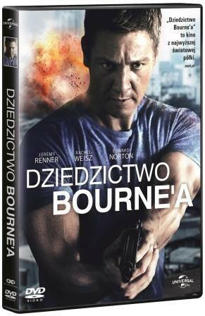 Universal Pictures Dziedzictwo Bournea DVD