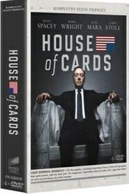 House of Cards Sezon 1 4xDVD) DVD) David Fincher Beau Willimon