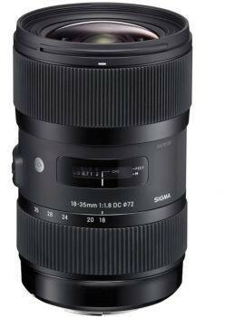 Sigma 18-35mm f/1.8 A HSM DC Sony
