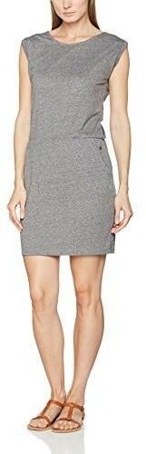 S.Oliver damska sukienka, kolor: szary (Grey Melange 9400) , rozmiar: 40 B01N264NVU