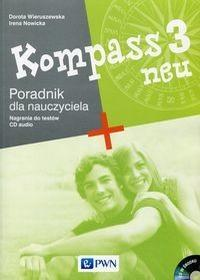 Wieruszewska Dorota, Nowicka Irena Kompass 3 neu Poradnik dla nauczyciela + CD / wysyłka w 24h