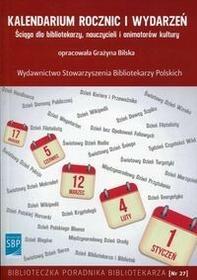 Bilska Grażyna Kalendarium rocznic i wydarzeń / wysyłka w 24h
