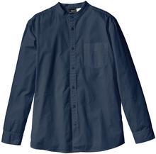 Bonprix Koszula z długim rękawem Regular Fit ciemnoniebieski