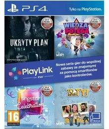 Zestaw PlayLink Ukryty Plan + Wiedza To Potęga + Singstar Celebration + To jesteś Ty! PS4