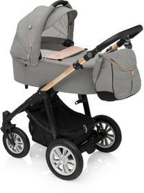 Baby Design Wózek wielofunkcyjny 3w1 Lupo Comfort quartz
