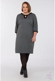 Monnari Sukienka w kropeczki Plus