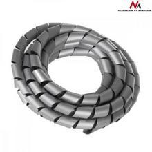Maclean Osłona maskująca na kable MCTV-687S 20.4 22mm 3m srebna spirala MCTV-687S
