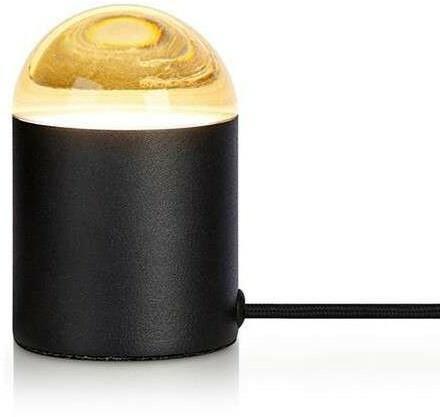 Markslojd Stojąca LAMPA stołowa JINX 107201 minimalistyczna LAMPKA nocna czarna 107201