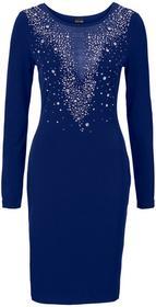Bonprix Sukienka wieczorowa kobaltowy
