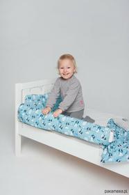 Ikea Ochraniacz do łóżka buldożki