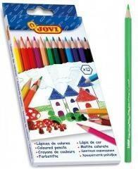 JOVI Kredki ołówkowe 12 kolorów