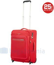 Samsonite AT by Mała kabinowa walizka AT AIRBEAT 102998 Czerwona - czerwony
