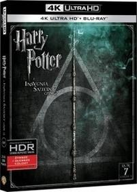 HARRY POTTER I INSYGNIA ŚMIERCI CZĘŚĆ 2 2BD 4K) Płyta BluRay)