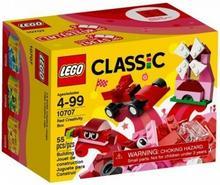 LEGO Czerwony zestaw kreatywny 10707