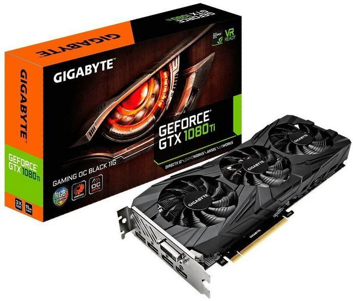 Gigabyte VGA GTX1080 Ti OC Gaming VR Ready (GV-N108TGamingOC-11GD)