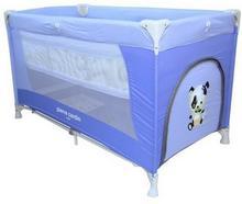 Coneco Pierre Cardin Playpen łóżeczko turystyczne 03 niebieskie Enova33519