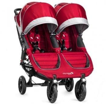 Baby Jogger City Mini Double GT Crimson/Gray