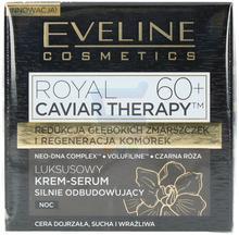 Eveline Royal Caviar Therapy 60+ Krem do twarzy na noc Silnie Odbudowujący 50 ml