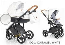 Roan Soft Eco Leather 3w1 Caramel White