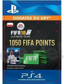 FIFA 18 1050 Punktów PS4 wersja cyfrowa