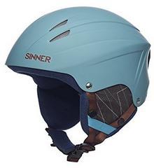 Sinner Empire dla dorosłych ABS kask narciarski, niebieski, L SIHE-114-51-60