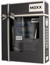 Mexx zestaw Forever Classic Never Boring męski DNS 75ml + żel pod prysznic 50ml