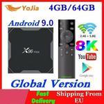 x96 2020 Android 9.0 TV, pudełko Max Plus Amlogic S905x3 8K inteligentny odtwarzacz multimedialny
