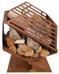 Esschert Design Esschert taras piec z drewna opałowego kieszeń S, FF143