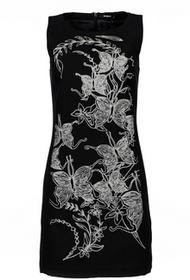 Desigual sukienka damska Rotterdam 38 czarny