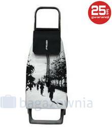 ROLSER Wózek na zakupy JOY JET Czarno biały - biały / czarny