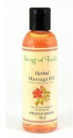 Song of India Sandałowy olejek do opalania masażu 100ml Song of India 8901419014119