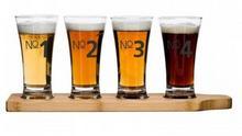 Sagaform Zestaw 4 szklaneczek do piwa SAGEFORM Bar, 150 ml
