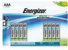 Energizer 1x8 Eco Advanced Micro AAA LR 03 1,5V E300116300