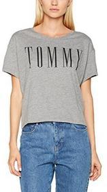 Hilfiger Denim Damski T-Shirt thdw CN koszulka T-shirt S/S 49 - xl B0719D475S