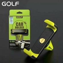 Golf Golf Uchwyt Telefon Car Air Vent Mount Holder Black Green GF-CH01