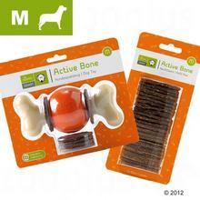 Hunter Zabawka Dla Psa Active Bone, M - Rozmiar M + 24 sztuki uzupełnienia