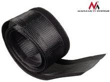 Maclean Maskownica kabli 1.8m 85mm MCTV-675 B black MCTV-675B