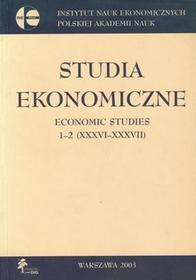Studia ekonomiczne 1-2 - DiG