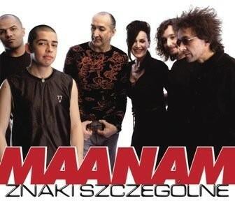 Znaki szczególne Winyl) Maanam