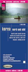 Reise Know How Korea północna i południowa  mapa 1:700 000 Reise Know-How