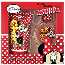 Disney Mickey ET Minnie zestaw prezentowy Eau de Toilette i żel pod prysznic, 1er Pack (1 X 1 sztuki) DMM2515
