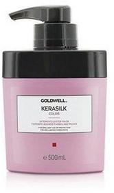 Goldwell Złota Well Kera Silk tiefenpflegende kolorowe maska na połysk, 1er Pack (1X 500ML) 265251