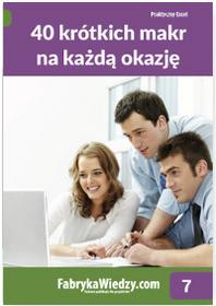 Chojnacki Krzysztof 40 krótkich makr na każdą okazję / wysyłka w 24h