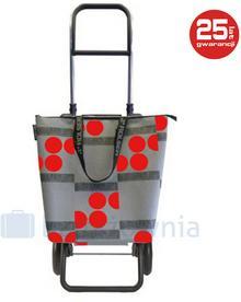 ROLSER Wózek na zakupy Logic RG Mini Bag Logos - szary / czerwony Logic RG Mini Bag Logos Rojo