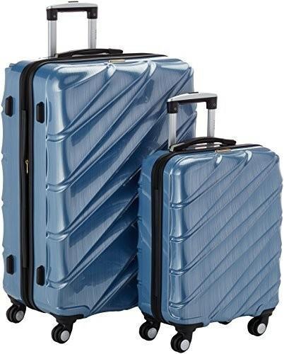 9ce8c9f1da6ff Shaik 7203046 walizka na kółkach,-częściowy zestaw (M, XL), błękitna ...