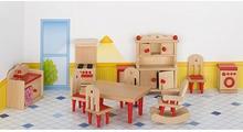 Goki KUCHNIA drewniane mebelki rustykalne dla lalek GK 51951