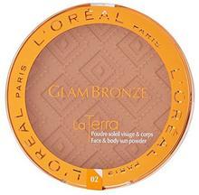 L'Oréal Paris Glam Bronze Maxi pudru brązującego NATURALE dla 02Capri ZIT04615