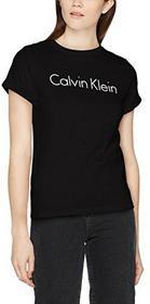 Calvin Klein damski T-Shirt S/s. Dzięki temu Mac Pro nigdy nie każe Crew Neck - s czarny (black 001) B072NYZ6LB